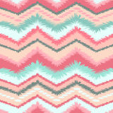 Ethnic zigzag seamless pattern. Stock Photography
