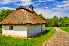 Ethnical Village House Royalty Free Stock Photography