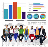 Ethnicity Casual People Strategy Ideas Teamwork Support Concept Stock Images