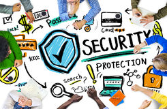 Ethnicity People Conference Discussion Security Protection Conce Royalty Free Stock Photo
