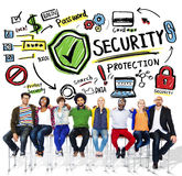 Ethnicity People Teamwork Security Protection Concept Royalty Free Stock Photo