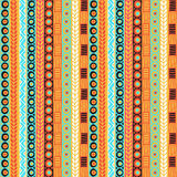 Ethnicity seamless pattern. Boho style. Ethnic wallpaper. Tribal art print. Old abstract borders background texture Stock Images