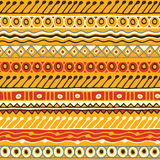 Ethnicity seamless pattern. Boho style. Ethnic wallpaper. Tribal art print. Old abstract borders background texture. Seamless tribal texture. Tribal seamless Royalty Free Stock Image