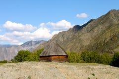 Ethnics Altai Fotos de archivo libres de regalías