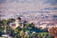 Ethniko Asteroskopio Athinon w Ateny, Grecja Zdjęcie Stock