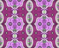 Ethnische Auslegung Indisches Muster Ethnischer Hintergrund Verschiedene Varianten der Farbe sind möglich vektor abbildung