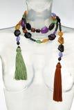 Ethnische Halskette Lizenzfreies Stockfoto