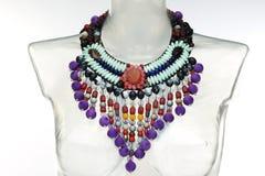 Ethnische Halskette Lizenzfreies Stockbild