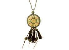 Ethnische Halskette Stockbild