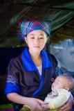 Ethnische Mädchen Hmong Stockfoto