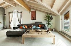 Ethnische Möbel, Wohnzimmer Lizenzfreie Stockfotos