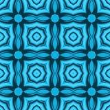 Ethnische moderne geometrische nahtlose Musterverzierung Stockbild