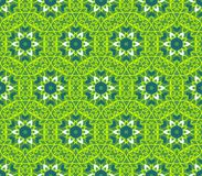 Ethnische moderne geometrische nahtlose Musterverzierung Stockfotos