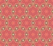 Ethnische moderne geometrische nahtlose Musterverzierung Stockbilder