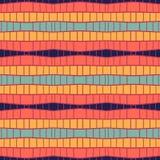 Ethnische moderne geometrische nahtlose Musterverzierung Lizenzfreie Stockfotos