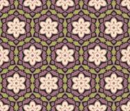 Ethnische moderne geometrische nahtlose Musterverzierung Lizenzfreies Stockbild