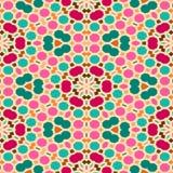Ethnische nahtlose Hintergrundbeschaffenheit der abstrakten Weinlese Abstrakte nahtlose geometrische Muster Lizenzfreie Stockfotografie