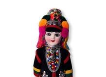 Ethnische Puppe stockbild