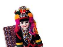 Ethnische Puppe lizenzfreie stockbilder