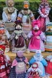 Ethnische Puppen des Handwerks stockfotos
