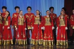 Ethnische russische Lieder Stockfoto