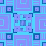 Ethnische Tapete AZTEKISCHES Muster Stammes- Druck Es kann für Leistung der Planungsarbeit notwendig sein vektor abbildung