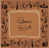 Ethnischer Hintergrund, Afrika, Leute lizenzfreie abbildung