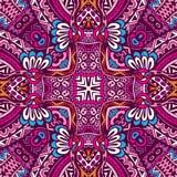 Ethnischer nahtloser Muster Ornamental Lizenzfreie Stockbilder
