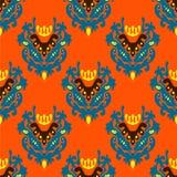 Ethnischer nahtloser Muster-Vektor Stockfotografie