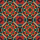 Ethnisches abstraktes indisches Muster Stockbilder