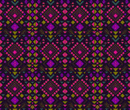 Ethnisches abstraktes Muster Lizenzfreies Stockbild