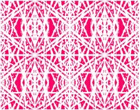 Ethnisches abstraktes rosa nahtloses Muster für Gewebe, Keramikfliesen oder Hintergründe vektor abbildung