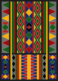 Ethnisches arabisches Afrikaner Baduy-Muster Stockbilder