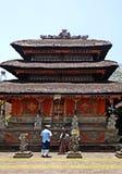 Ethnisches Bali-Gebäude lizenzfreies stockbild