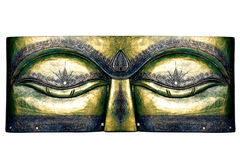 Ethnisches Brett Buddhas Stockbilder