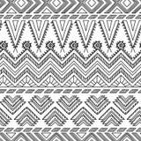 Ethnisches dekoratives Textilnahtloses Muster Stockfotografie