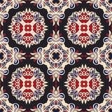 Ethnisches geomertric nahtloses Muster Stockbild