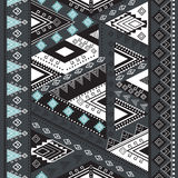 Ethnisches geometrisches Muster Stockfotografie
