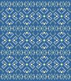Ethnisches geometrisches Muster, Hintergrund lizenzfreie abbildung