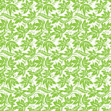 Ethnisches grünes Muster Lizenzfreies Stockbild