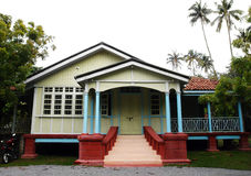 Ethnisches Haus von Malacca, Malaysia Stockfotos