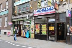 Ethnisches London stockfotografie