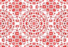Ethnisches Muster Abstraktes Kaleidoskop Lizenzfreies Stockbild