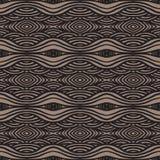 Ethnisches Muster, mit starken Zeilen und machen Wellen glatt vektor abbildung