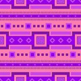Ethnisches Muster Stammes- Druck Stammes- Hintergrund Nahtloses Muster Lizenzfreie Stockbilder