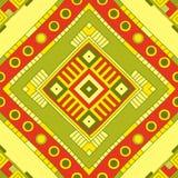 Ethnisches Muster Stammes- Kunst Afrikanisches Muster Stockfotografie