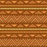 Ethnisches Muster Stammes- Kunst Afrikanisches Muster lizenzfreie abbildung