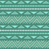 Ethnisches Muster Stammes- Kunst Afrikanisches Muster vektor abbildung