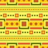 Ethnisches Muster Stammes- Kunst Afrikanisches Muster Es kann für Leistung der Planungsarbeit notwendig sein stock abbildung