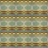 Ethnisches nahtloses Muster lizenzfreies stockfoto